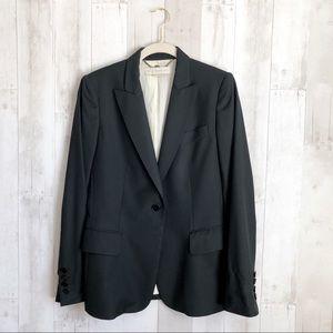[Stella McCartney] Black Wool One Button Blazer